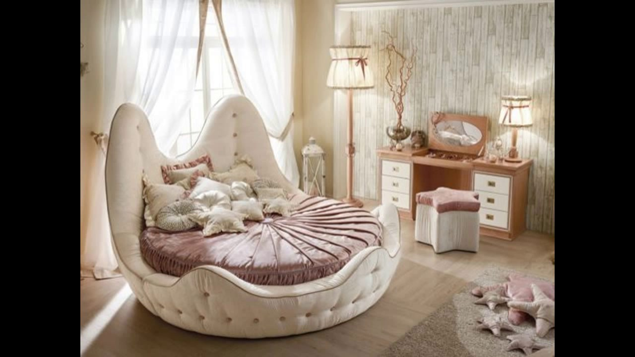 Creative round bed designs ideas youtube for Round bed design images