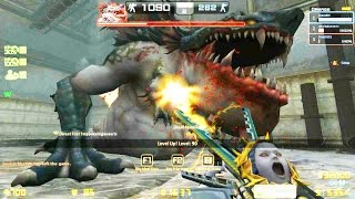 Gambar cover Counter-Strike Nexon: Zombies - Gluttony Zombie boss Fight online gameplay on Conspiracy map