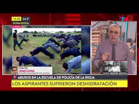 Abusos en la Escuela de Policía de La Rioja