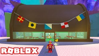 Roblox → BUILDING the KRUSTY KRAB! -Spongebob Tycoon 🎮