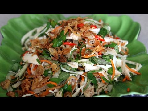 CHICKEN SALAD - GOI GA BAP CAI