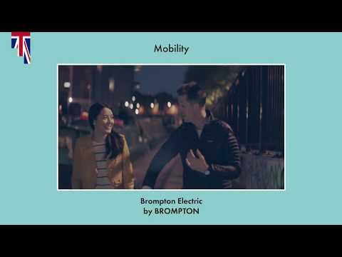 The BORN in UK Awards 2018 - Mobility Prize: Brompton Electric Bike by Andrew Ritchie and Will Adams