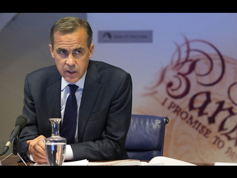 Mark Carney's speech Live Stream - BOE Press Conference Today