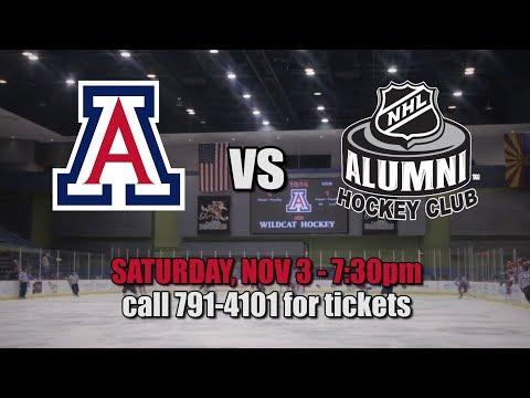 Arizona vs NHL Alumni Team - Saturday, Nov 3, 2018
