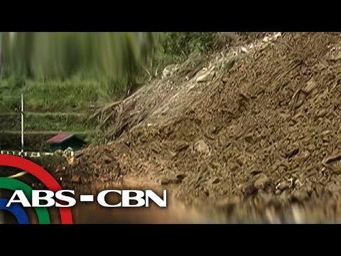 Bandila: Ilang kalsada sa hilagang Luzon, hindi madaanan dahil sa landslide