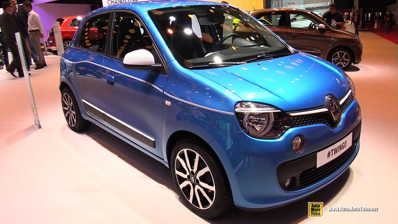 2015 renault twingo exterior and interior walkaround 2014 paris auto show youtube. Black Bedroom Furniture Sets. Home Design Ideas