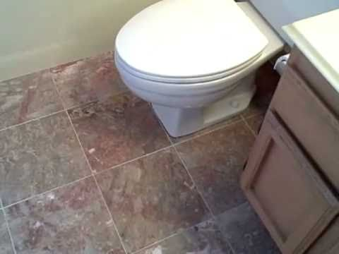 Crema Luna Beige Marble Tile Bathroom Floor   YouTube Part 92