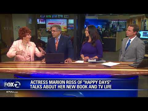 Actress Marion Ross talks about her book, TV Life
