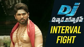 DJ Duvvada Jagannadham Scenes - Interval Fight Scene - Allu Arjun Fight Scenes