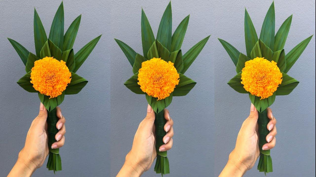 ดอกไม้ไหว้พระ แบบง่ายมากๆ | MeeDee DIY