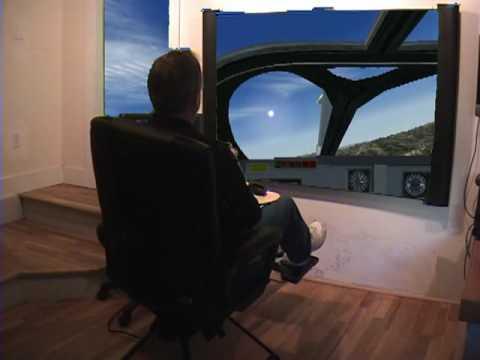 flight simulator chair motion ikea patio cushions fsx home full x pilot gaming 2010