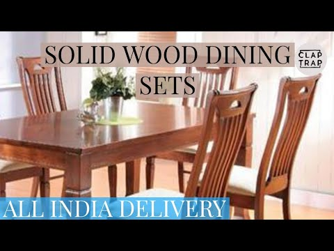 SOLID WOOD DINING TABLES | CONTACT - 09810527294