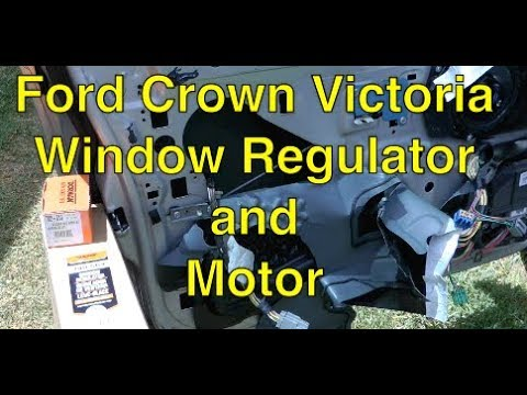 A-Premium Power Window Lift Motor Compatible with Ford Crown Victoria Lincoln Town Car Mercury Marauder 1990-2011 Front Left or Rear Right Side