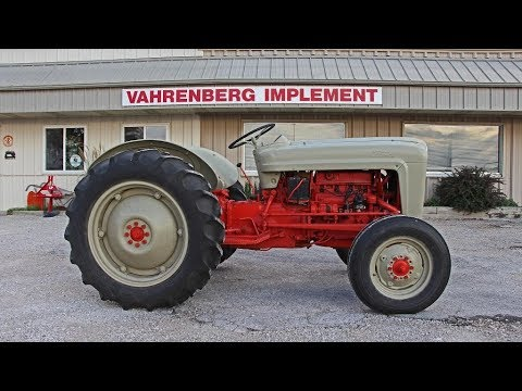 1953 ford golden jubilee tractor value