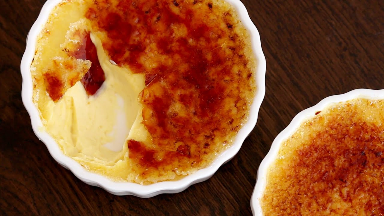 Creme Brulee Recipe Youtube