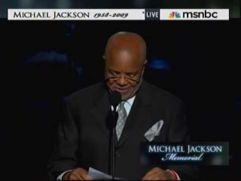 Michael Jackson Memorial Service - Berry Gordy Eulogy