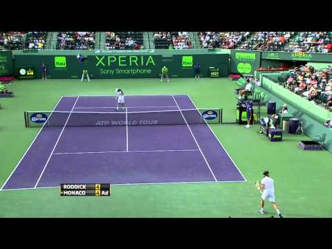 Roddick vs. Monaco Miami 2012 R4 (HD)