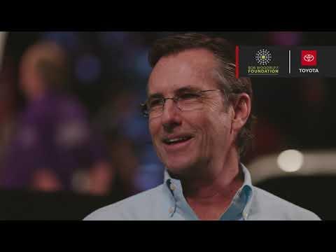 2020 Toyota Supra Charity Auction Interview - Bob Woodruff Foundation
