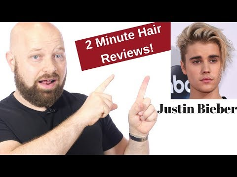 Justin Bieber Hair Review - 2 Minute Celebrity Hair Reviews from TheSalonGuy