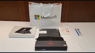 Microsoft Surface Pro (2017), Accessories Bundle, and Extras Unboxing