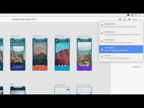 Share Mode - Adobe XD November Release 2019 | Adobe Creative Cloud