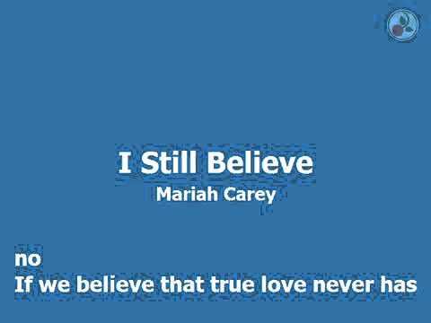 Mariah Carey - I Still Believe (Karaoke)