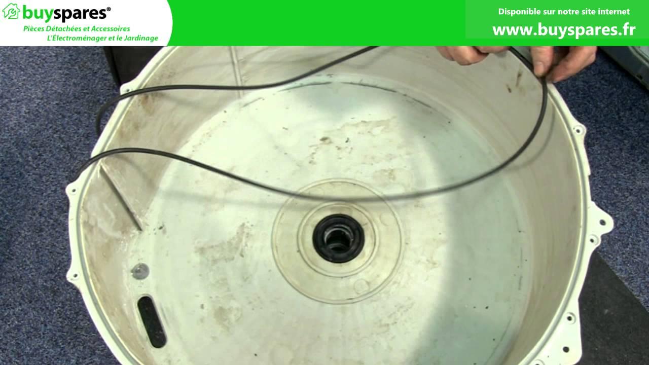 Comment remplacer les roulements d 39 un lave linge youtube - Comment laver sa machine a laver ...