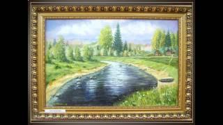 Выставка картин В.М. Мухина ''Псковская родимая земля''