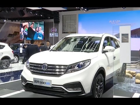 SUVs Attract Attention at Auto Shanghai 2017