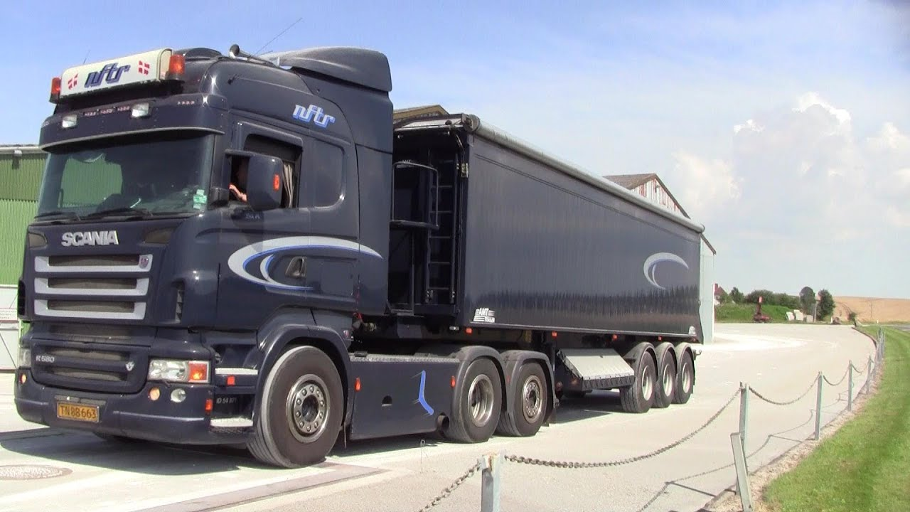Connu Scania R580 V8 Loaded With Lime - YouTube FR21