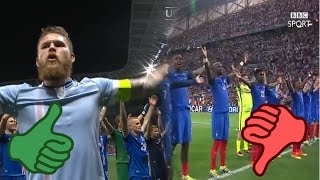France steal Iceland Celebration