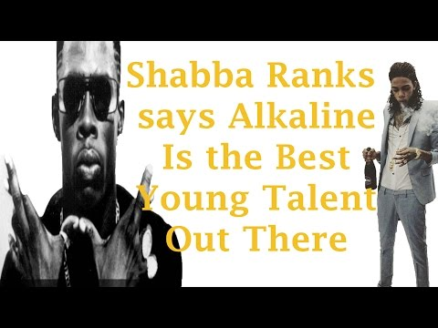 Shabba Ranks Say Alkaline Talent Is Beyond Any Other Young Artist