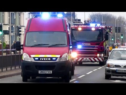 *RARE* - Kent Fire & Rescue Service // All Terrain Vehicle + Heavy Rescue Pump // Responding