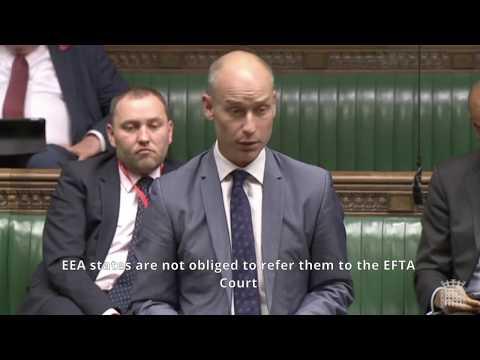 Stephen Kinnock argues for British Membership of the EEA
