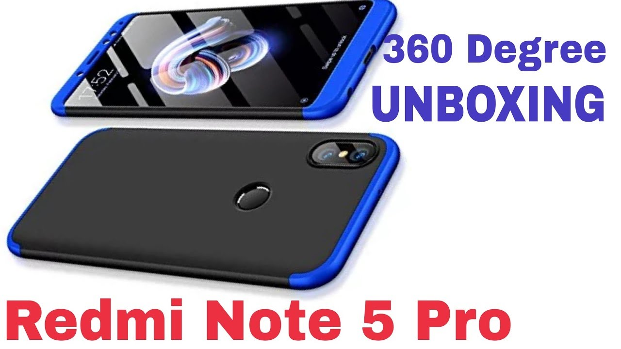 official photos a936f 75866 Redmi Note 5 Pro | ORIGINAL 360 COVER | UNBOXING