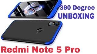Redmi Note 5 Pro   ORIGINAL 360 COVER    UNBOXING