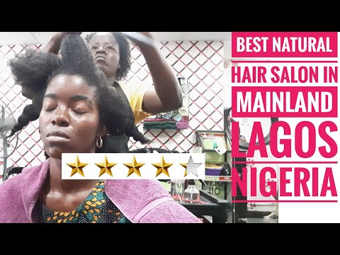 GOING TO THE BEST REVIEWED NATURAL HAIR SALON IN LAGOS, NIGERIA😥 Lagos Vlog 01  #NIGERIANYOUTUBER