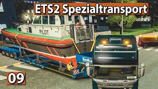 ETS2 SPEZIALTRANSPORT 🚚 LUXUS YACHT Schwertransport ► #9 Euro Truck Simulator 2 DLCs deutsch