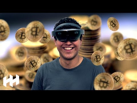 Ultimate Bitcoin Trading Setup! | HoloLens Mixed Reality!