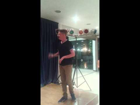 Ian Wallace Benidorm 2015 Karaoke