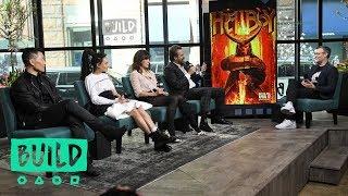 "David Harbour, Milla Jovovich, Daniel Dae Kim & Sasha Lane On Their Film, ""Hellboy"""