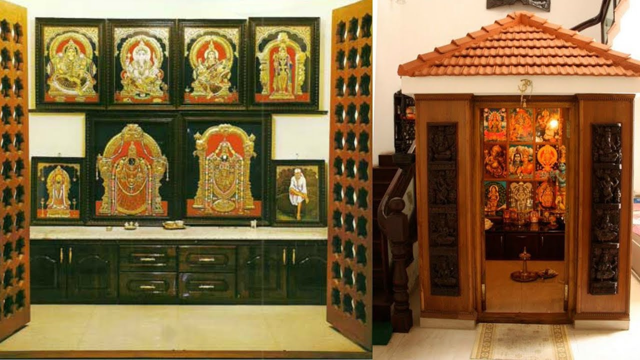 50 Ideas On South Indian Style Pooja Room Decor Youtube