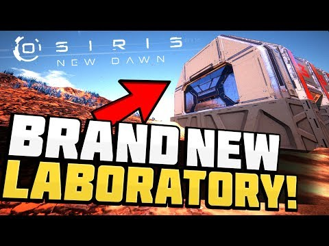 Osiris New Dawn - BRAND NEW LAB! Vehicle Laboratory & Plastic Farming! - Osiris New Dawn Gameplay