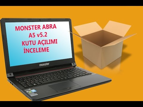 Monster Abra A5 v5.2 Kutu Açılımı + İnceleme / Unboxing + Examination