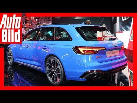 Audi RS 4 Avant (IAA 2017) Review/Details/Erklärung