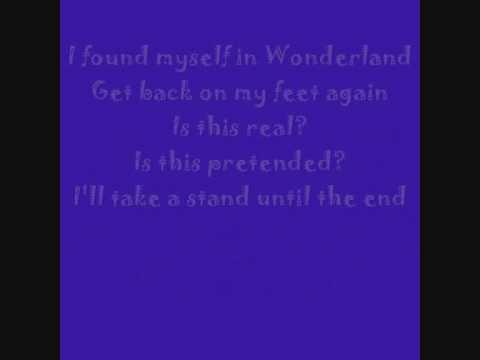 Alice in underground- Karaoke with lyrics