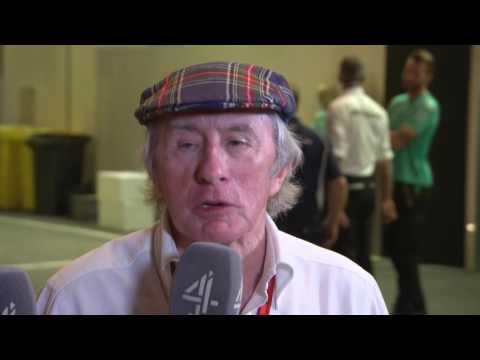 2016 Abu Dhabi - Post-Race: Sir Jackie Stewart
