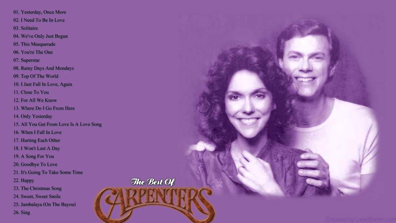 The Carpenters Greatest Hits - The Best Songs Of The Carpenters