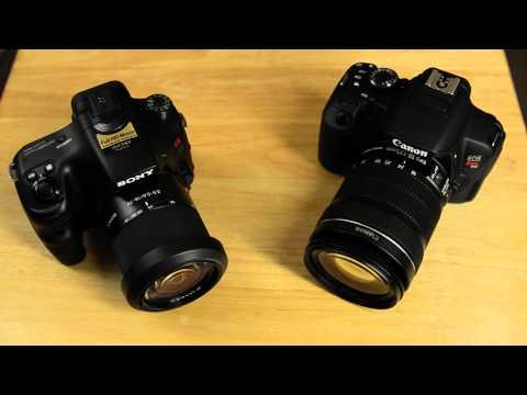 Sony A57 VS Canon T4i (650D)
