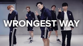 Video Wrongest Way - Sonny / Junsun Yoo Choreography download MP3, 3GP, MP4, WEBM, AVI, FLV September 2017